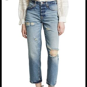 """NWT Free People """"We The Free"""" ripped BF jeans"""
